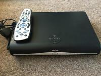 Sky drx890wl-z 500gb box and remote - 3 months old with wifi built in.