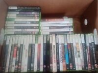 Xbox 360 with 49 games