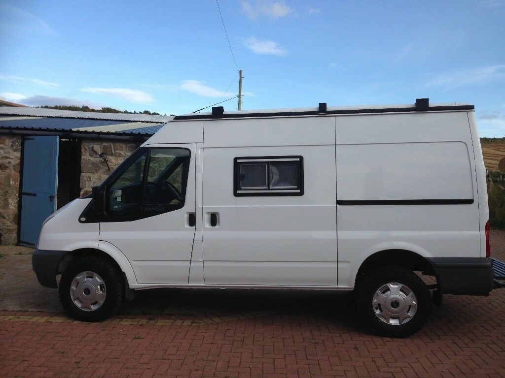 ford transit 4x4 3 berths camper van mot sep 18 price reduced from 10 500 in aberdeen gumtree. Black Bedroom Furniture Sets. Home Design Ideas
