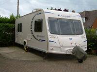 2010 Bailey Pageant Provence ser7 Caravan