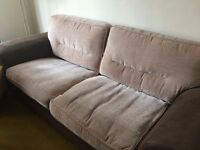 3 Seater Sofa and Chair for free