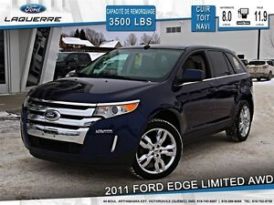 2011 Ford Edge **LIMITED*AWD*CUIR*TOIT*NAVI*CAMERA*A/C**
