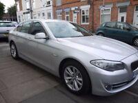 BMW 5 Series ,£30 TAX/ BIG SAT NAV/LEATHER