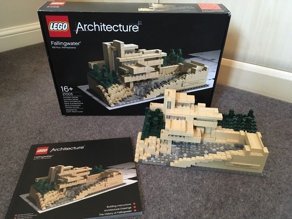 Lego Architecture Set 21005 Fallingwater In Darlington County