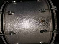 As NEW, unplayed, Ludwig maple classic kit, silver sparkle, purchased end 2016.