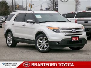 2013 Ford Explorer Limited, Leather, Navi, 20 Inch Wheels, Sunro
