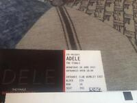 Adele the finale tickets