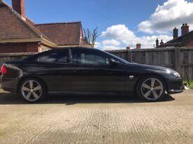 Vauxhall Monaro V8 5.7l Black Big Boot model