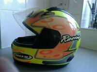 MOTORCYCLE HELMET , good condition only £45