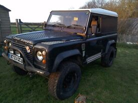Landrover 90 V8, with LPG kit fitted