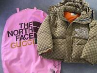 North Face x Gucci puffer