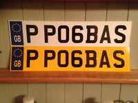 personalised vehicle registration plates / cherished number plates / calling all MAN UTD supporters