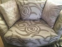 Small cuddle sofa/large chair - MUST GO ASAP