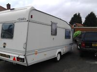 Elddis caravan 1997 - Two berth could sleep three
