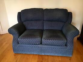 French Navy Two Seater Sofa