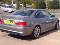BMW 320 ci sport coupe sliver