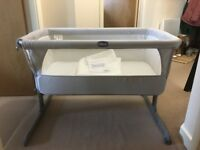 Next to me cot grey pre-owned