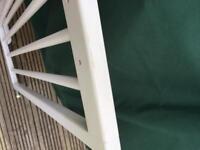 Wooden adjustable stair gates x2
