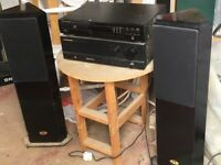 Marantz special edition CD player and floor standing speakers