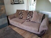 2 x 3 seat sofa's