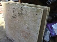Used patio slabs