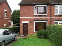 2 bedroom semi-detached house to swap to a detached building
