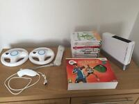 Wii Bundle with Wii Board & 11 Games