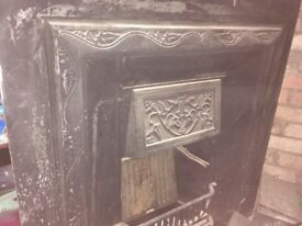 Antique Marble fire place and inset