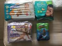 Selection of nappies