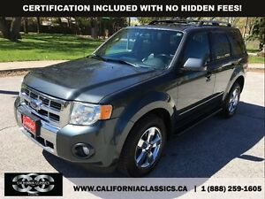 2009 Ford Escape LIMITED LEATHER SUNROOF - 4X4