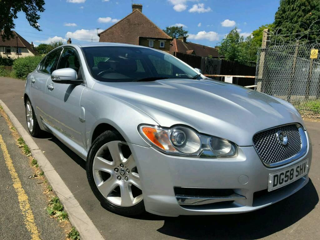 Jaguar XF 2.7 luxury premium 58 reg 2008 silver   in ...
