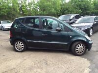 2003 (53) Mercedes A Class 1.6 Manual With 12 Month MOT PX Welcome