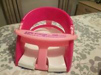 Safety baby bath seat