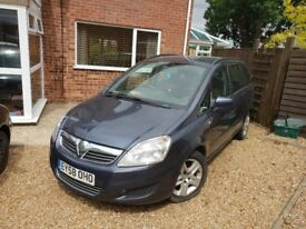 Zafira non runner due to fuel fault for sale