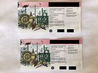2 x WIMBLEDON LADIES FINALS TICKETS. SITTING TOGETHER. WOMENS AND MENS DOUBLES FINALS ALSO.