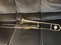 JUPITER VALVE TROMBONE SVL 528, VGC, V-BACH M-piece, IDEAL STUDENT MODEL or doubling pro