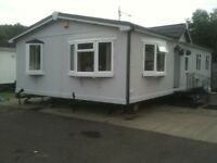 FOR SALE Tingdene Chalet 40ft X 20ft twin unit 3 bedrooms with conservatory