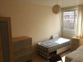 available now..room share for female in fulham...£80 pw (bills inc)