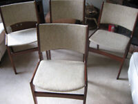 G-PLAN STYLE DINING CHAIRS