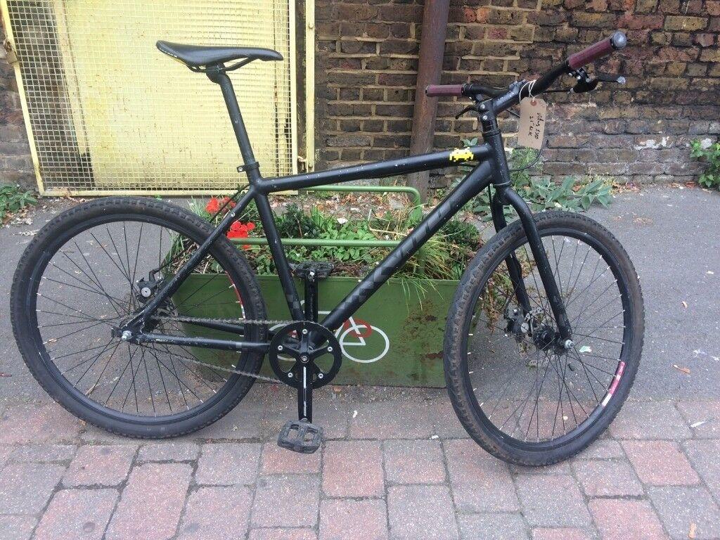 vitus single speed bike with disc brakes