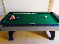 Pool Table with Cues and Balls in excellent condition only £85!