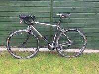 Genesis Equilibrium 54cm Stainless Steel Road Bike - Sram RED/Force