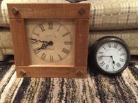 2 wall clocks for sale