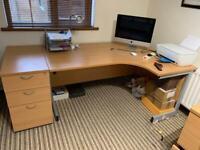 Corner desk SOLD