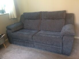 3 Seater Electric Recliner Sofa (immaculate condition)