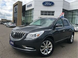 2014 Buick Enclave LEATHER, A.W.D. ROOF.
