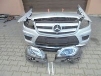 Mercedes GL W166 X166 PARTS: Engine, Gearbox, FRONT, BACK, Headlight, Seats, AIRMATIC, ADS, Bumper
