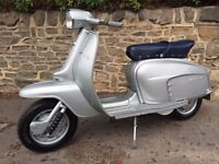 LAMBRETTA LI SILVER SPECIAL PACE MAKER (FULLY RESTORED) ONE OF THE BEST !!