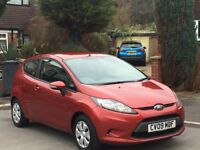 For sale ford fiesta 1.6 tdci econetic 09 red 3dr