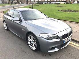 11 REG BMW 520D M SPORT NEW SHAPE GREY AUTO LEATHER SAT NAV XENONS NOT 525D 530D 535D E220 E250 E350